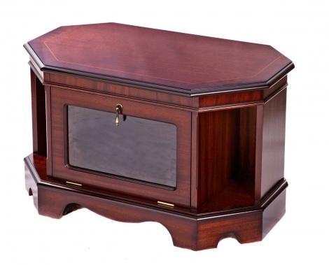 Ashmore Antique Reproduction, Small Corner TV Cabinet