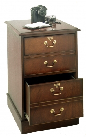 Bradley Antique Reproduction 2 Drawer Filing Cabinet