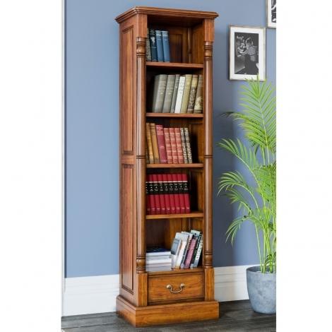 La Reine, Mahogany Narrow Alcove Bookcase