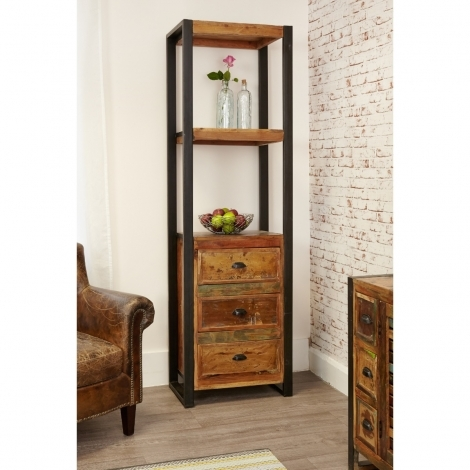 Baumhaus Urban Chic Alcove Bookcase (with drawers)