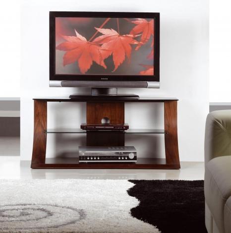 Jual Florence Curve Walnut TV Stand 1100mm JF201