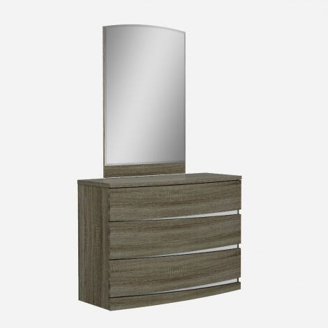 Joyce Gloss Dresser and Mirror