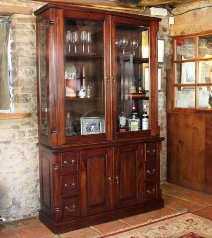 Louis Solid Mahogany Dresser