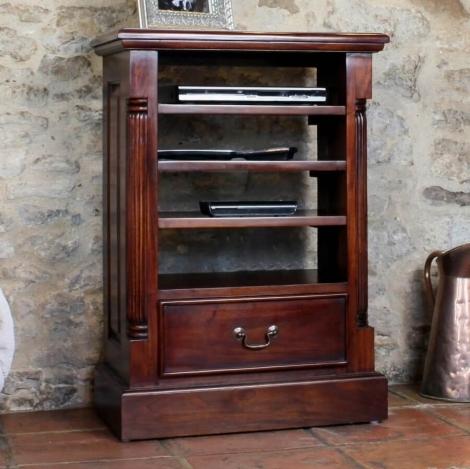 Louis Solid Mahogany Entertainment Cabinet (Ancillaries)