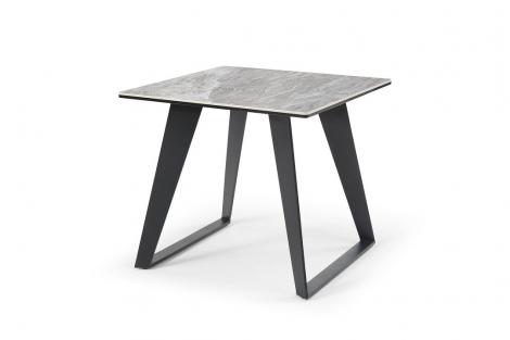 Morada Ceramic Marble Lamp Table