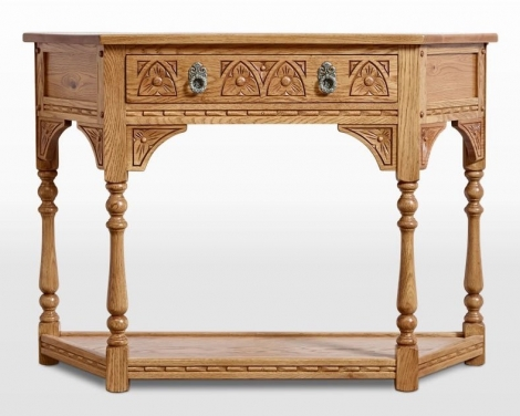 Old Charm Canted Console Table OC2379