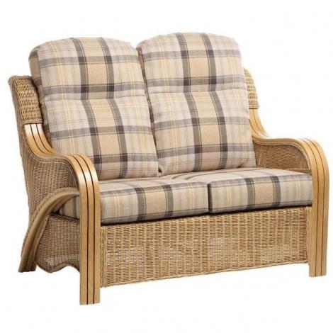 Desser, Opera, Light Oak, Cane 2 Seater Sofa