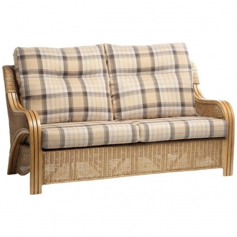 Desser, Opera, Light Oak, Cane 3 Seater Sofa