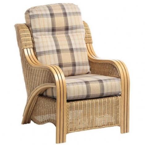 Desser, Opera, Light Oak, Cane Arm Chair