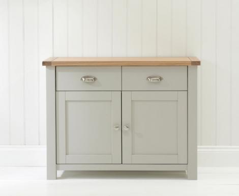 Sandringham Oak & Grey Sideboard Small