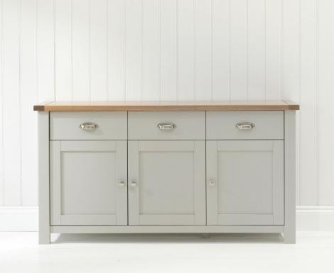 Sandringham Oak & Grey Sideboard Large
