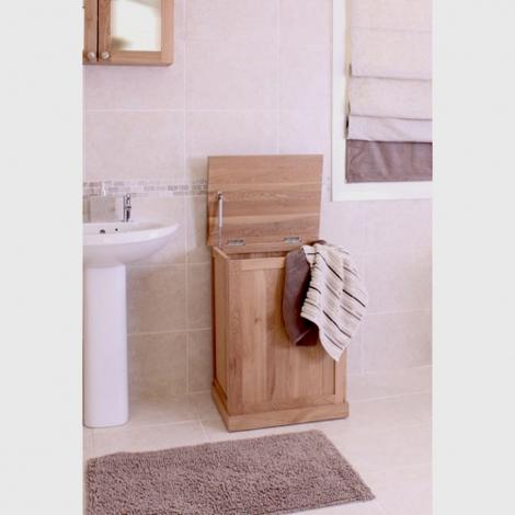 Baumhaus Mobel Oak Laundry Basket / Bin