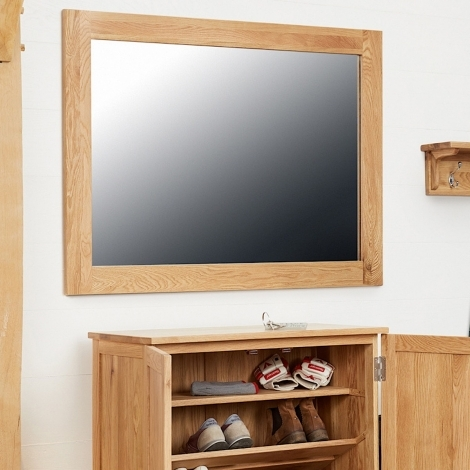 Baumhaus Mobel Oak Wall Mirror