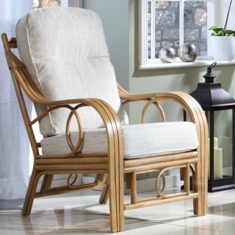Desser, Madrid, Light Oak, Cane Chair