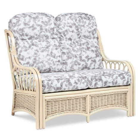 Desser, Vale, Natural Wash, Cane 2 Seater Sofa
