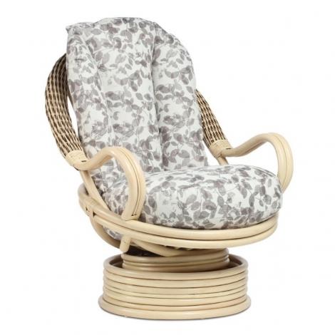 Desser, Vale, Natural Wash, Cane Deluxe Swivel Rocker Chair