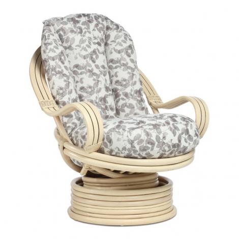Desser, Vale, Natural Wash, Cane Laminated Arm, Swivel Rocker Chair