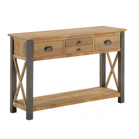 Elegance Reclaimed Console Table