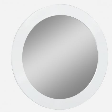 Lorna Wall / Dressing Mirror In White High Gloss